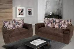Conjunto sofá Capitolio 2 e 3 lugares 175 D562