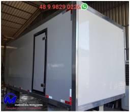 Camara fria gancheira caminhão toco 6.50m 12 paletes Mathias Implementos