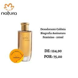 Desodorante Colônia Biografia Assinatura Feminino - 100ml