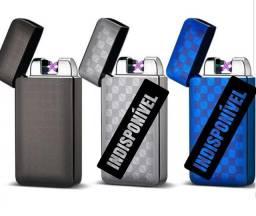 Isqueiro Plasma Elétrico Recarregável USB Aprova de Vento Alta Durabilidade