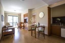 Flat à venda no Estanplaza Nações Unidas com 1 dormitório e 1 vaga!