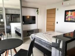 Studio com 1 dormitório para alugar, 27 m² por R$ 2.500,00/mês - Calhau - São Luís/MA
