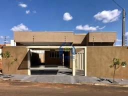 Casa com 3 dormitórios à venda, 115 m² por R$ 275.000 - Jardim Califórnia - Bady Bassitt/S