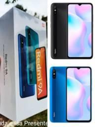Celular Redmi 9A xiaomi 32gb azul ou preto novo e lacrado na caixa