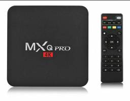 Tv box mxq pro 4gb ram 64gb memoria 4k