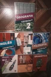 Livros para ensino médio- Conecte, Ser Protagonista etc
