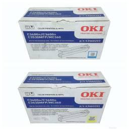 Lote com 2 Fotocondutor Okidata C3400N Original Novo
