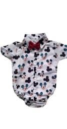 Body infantil temático Mickey (social)