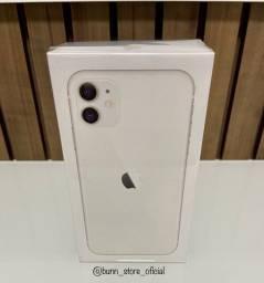 Iphone 11 branco 64GB novo, lacrado, com todos os acessórios