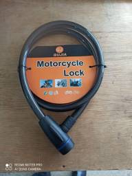 Corrente, cabo de aço. Para motos e bicicletas