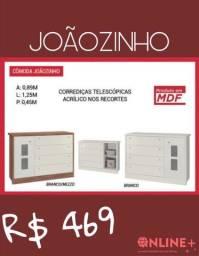 Cômoda Joãozinho 1 porta, 5 gavetas