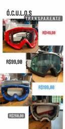 Oculos transparente