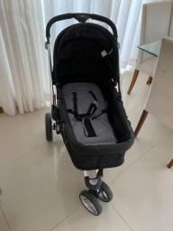 Carrinho de bebê kiddo 3 rodas e Moisés