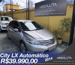 Honda City Lx Automatico 2014