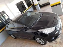 Ford Ka Sedan Preto 2015 1.5 flex 4p - GNV 5° Geração - Doc 2021 ok