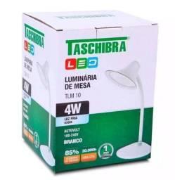 Luminárias De Mesa Tlm 10 4w Branco Taschibra