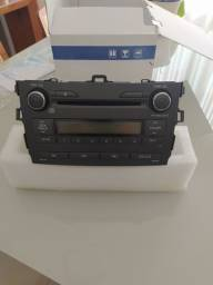 Aparelho de som rádio e CD Corolla 2013