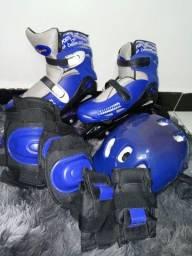 Patins Azul
