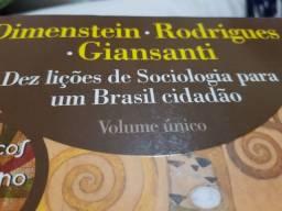 Livro DEZ LICOES DE SOCIOLOGIA  PARA UM BRASIL CIDADAO