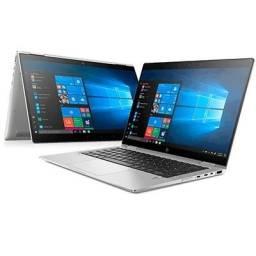 """Título do anúncio: Notebook HP Pavilion x360 14 cinza Conversível 14""""- Troco por Placa de Video"""