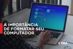 FORMATAÇÃO E LIMPEZA DE COMPUTADORES
