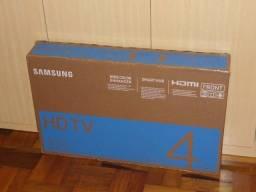 Smart Tv Samsung led 32 pol wifi hdmi nova na caixa sem uso n/f em Poa-rs