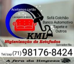 HIGIENIZAÇÃO e LIMPEZA a SECO de ESTOFADOS em SALVADOR e REGIÃO METROPOLITANA
