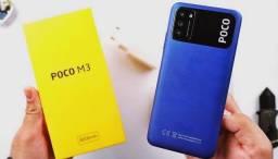 Xiaomi Poco m3 128gb. Azul. Novo. Garantia. Loja física