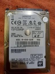 Hd notebook Hitachi 750gb
