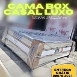 CAMA BOX CASAL PRONTA ENTREGA