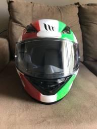 Capacete MT Helmets - Modelo Revenge - Nunca usado