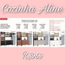 COZINHA ALINE COZINHA ALINE COZINHA ALINE  COZINHA ALINE PROMOÇÃO