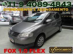 Vw Fox 1.0 Flex - 2 Portas - Ano 2008 - Bem Conservado - Financiamento Facilitado