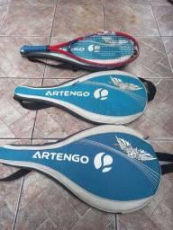 Vendo bolsa de raquetes de tênis. (ARTENGO)