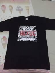 Camisas de banda Rock famosas top de qualidade