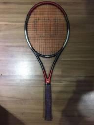 2 raquetes de tênis profissionais com acessórios
