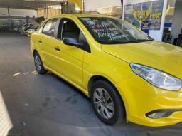 grand siena attractive 1.4 2019 ex taxi, completo + gnv, aprovação imediata!!!