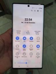 Samsung note 10 plus  256 gigas de memória