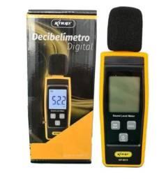 Decibelímetro Digital Medidor De Som Digital 30-130 Decibéis