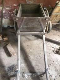 Carroça antiga madeira