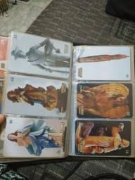 +3000 cartões telefônicos antigos