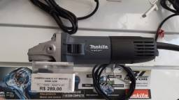 "Esmerilhadeira Angular 4.1/2 "" M9510G 850W - Makita"