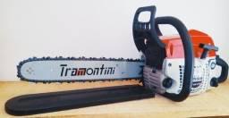 Promoção Motosserra Tramontini  Nova 32 dentes