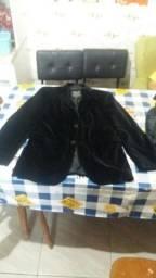 Vendo casaco de camurça original trademark mascolino usado em ótimo estado