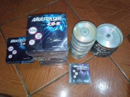 CDs e Mini dvds só tenho oq tá na foto
