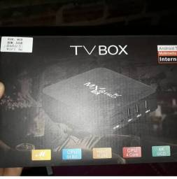 Tv box Mxg pro 5g com 64 gb.