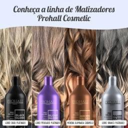 Matizadores Tonalizadores para Cabelos Prohall (Blond / Platinado / Morena Iluminada)