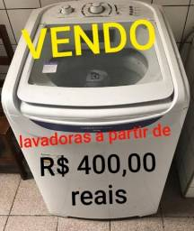 maquina de lavar a partir de 400 reais