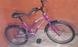 Bicicleta aro 20 para menina