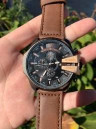 Relógios Diesel Couro (Novos Anápolis)